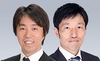 風岡 範哉&田中 泰男